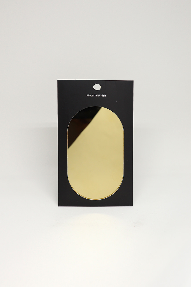 [MATERIAL FINISH]Mirror Gold