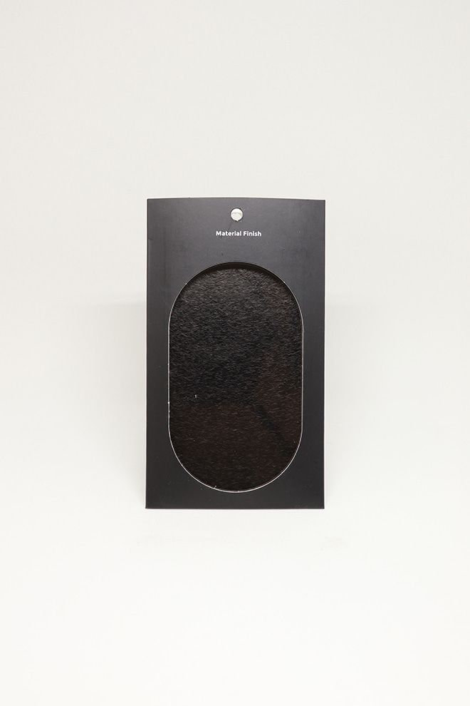 [MATERIAL FINISH]Vibration Dark Black