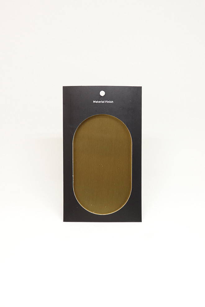 [MATERIAL FINISH]Hairline Gold